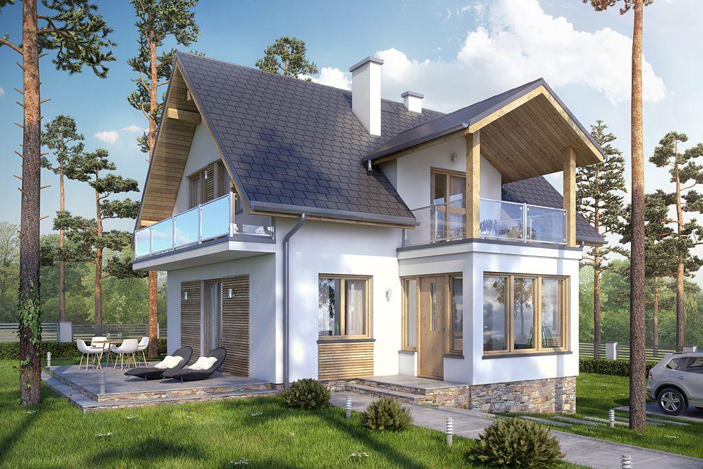 красивые двухэтажные дачи фото берегу также есть